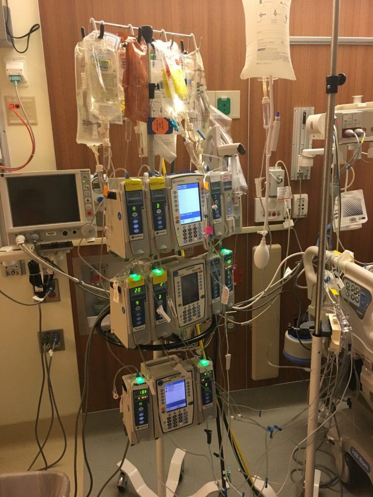 This Mommy's Heart - My PPCM Story - IV Drug Infusions